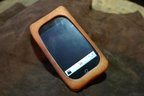 写真:iPhone 3G / 3GS用 革ケース